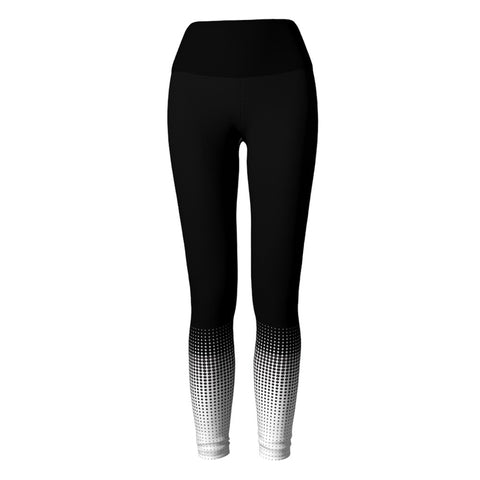 Dots Yoga Leggings at Alpha Thread