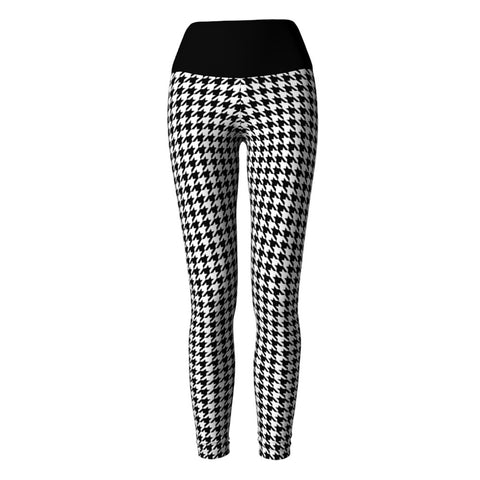 Houndstooth Yoga Leggings at Alpha Thread
