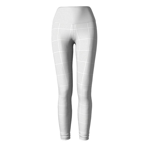 Pale Weave Yoga Leggings at Alpha Thread