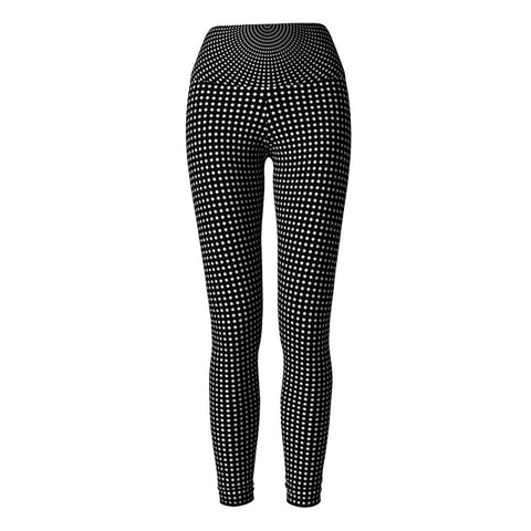 Polka Dot Yoga Leggings at Alpha Thread