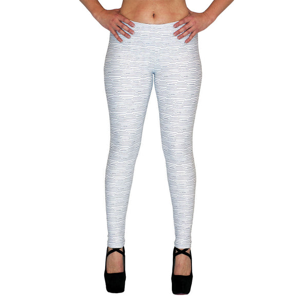 White Thread Leggings at Alpha Thread
