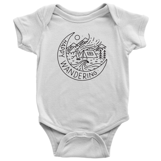 Happy Circle Onesie