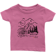 Happy Camper Infant Tee