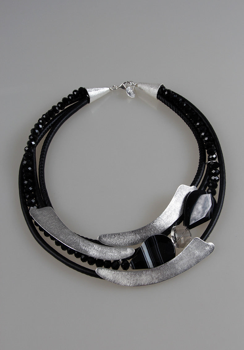 KIM SILVER NECKLACE
