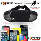 RUNNING BELT, FANNY PACK - Black