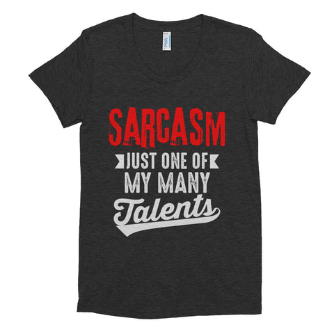 Sarcasm - Women's Crew Neck T-shirt