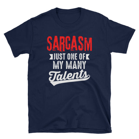 Sarcasm - Short Sleeve Unisex T-Shirt