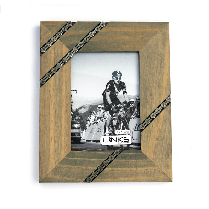 Cycling Chain Picture Frame, 4x6 or 5x7 – LINKS by Annette