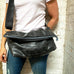 Crossbody Messenger Bag, Large, Small things, elevated, upcycled, unique, handmade, chicago, bike parts, Bike gifts, LINKS by Annette