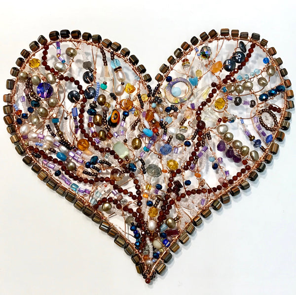 Heart.4-Wall Sculpture