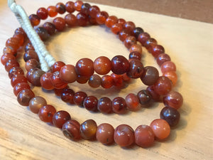 Vintage Carnelian Beads from Mali,Africa