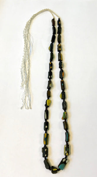 Ancient Black Roman glass beads