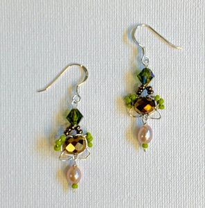 Woven Wire Earrings