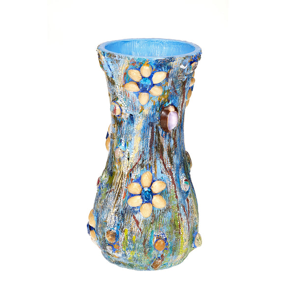 Pistachio Crackle Vase