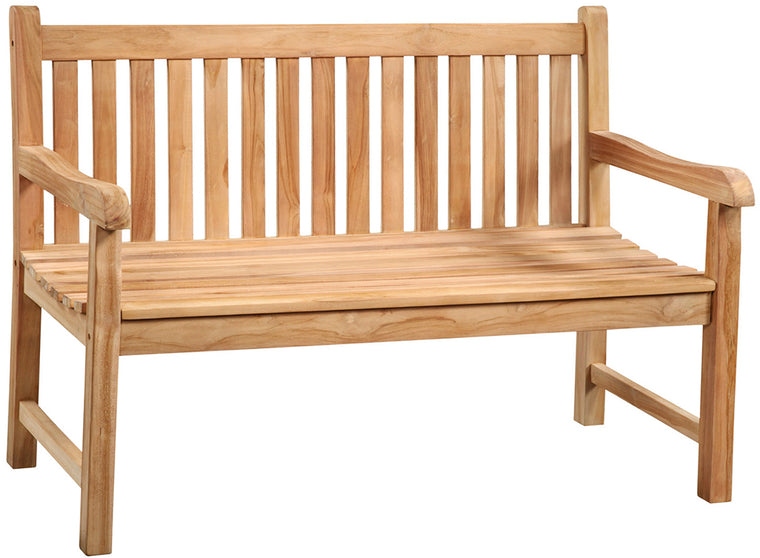 Outdoor Teak Bench 51""