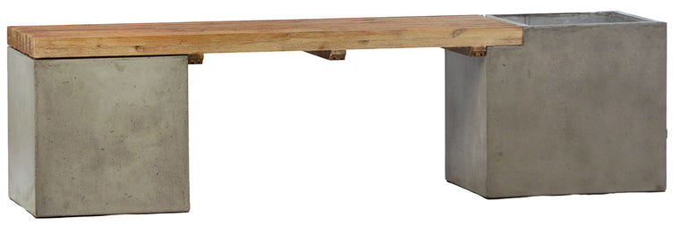 "Bowman Bench 67"" - Concrete"