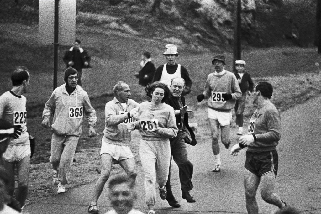 A Retelling of Kathrine Switzer's Infamous Boston Marathon