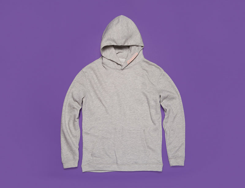 """GIRLFRIEND"" HOODIE :: HEATHER"