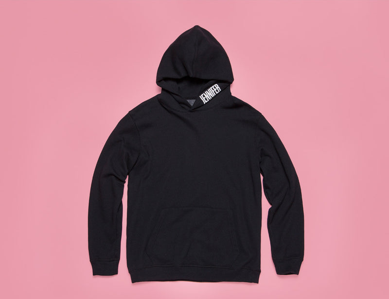 """GIRLFRIEND"" HOODIE :: MIDNIGHT"