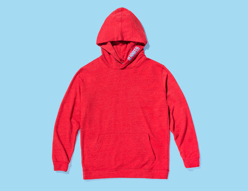GIRLFRIEND HOODIE :: RED