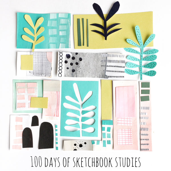 100 days of #sketchbook_studies