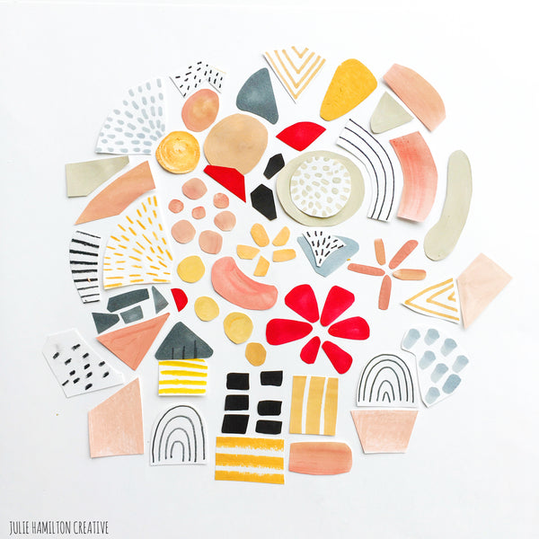 Julie hamilton Creative-mark making | artblog