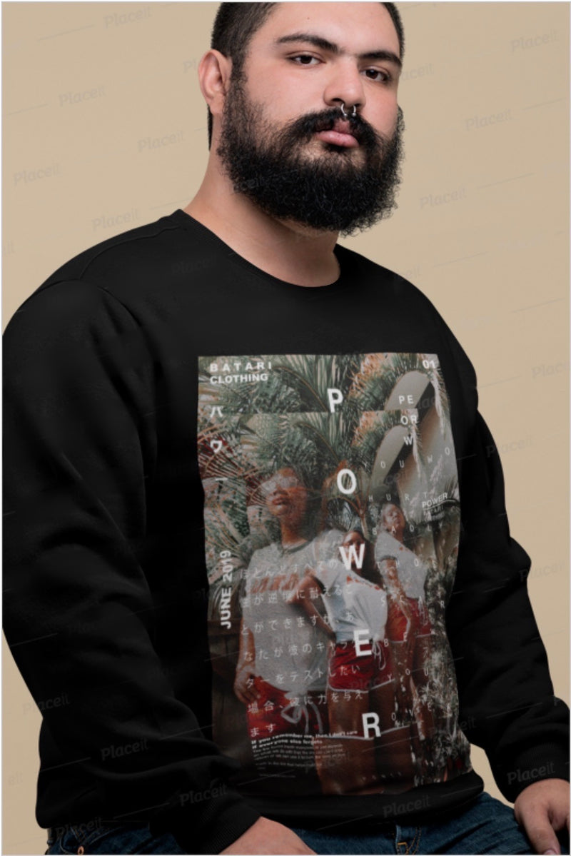 Power 01° Sweatshirt - BATARI