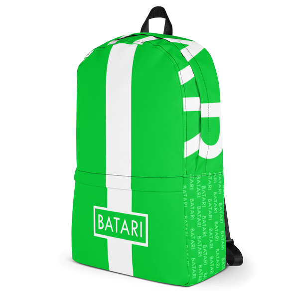 Green BATARI Backpack - BATARI