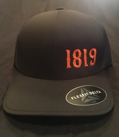 1819 Embroidered Ball Cap with Chapter name.