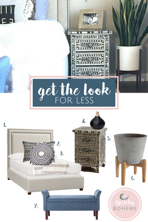 Get the Look for Less - Boho Bedroom Decor