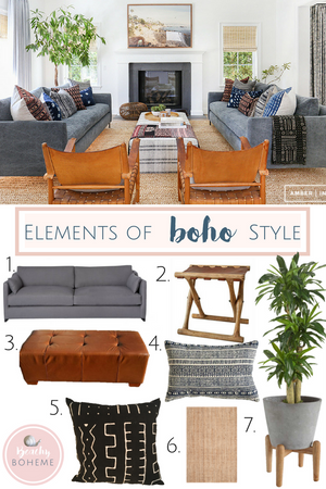 Elements of Boho Style