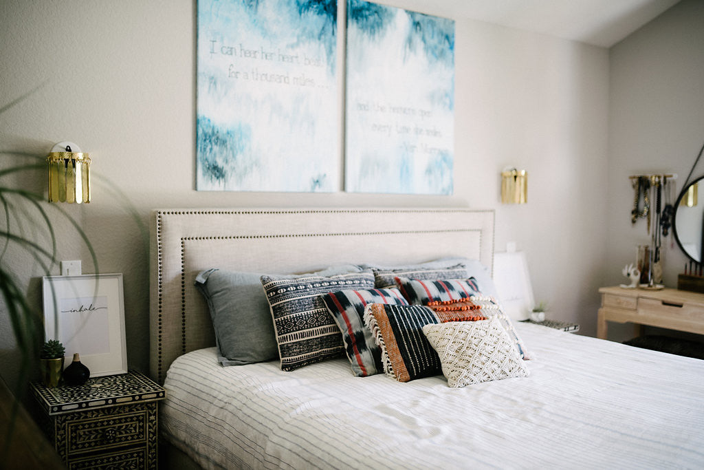Boho Bedroom Design Process