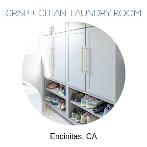 laundry room interior design Encinitas, CA