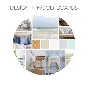 residential interior Design and mood boards