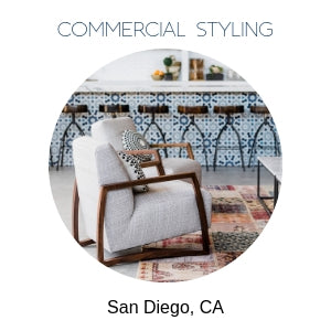 commercial interior styling in San Diego
