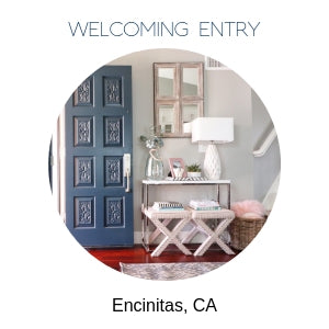 Encinitas entryway refresh
