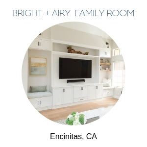 Family Room Interior Design Encinitas