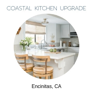 Coastal Kitchen Remodel Encinitas