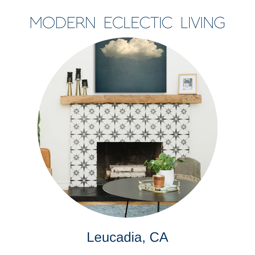 Eclectic modern home decor Leucadia