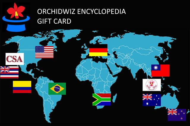 The  OrchidWiz Gift Card