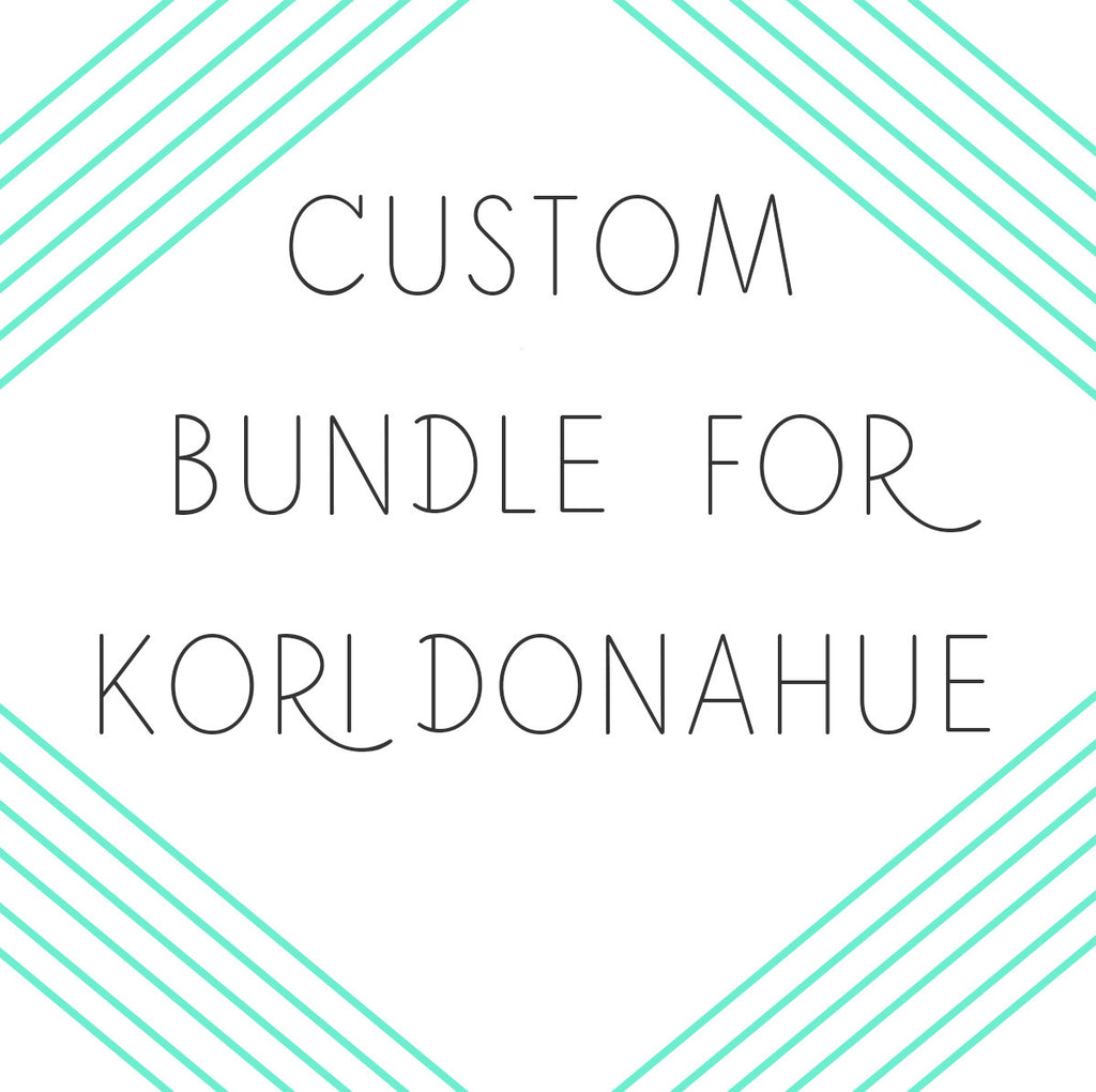 Wedding Bundle Reserved For Kori Donahue - Heart And Hand