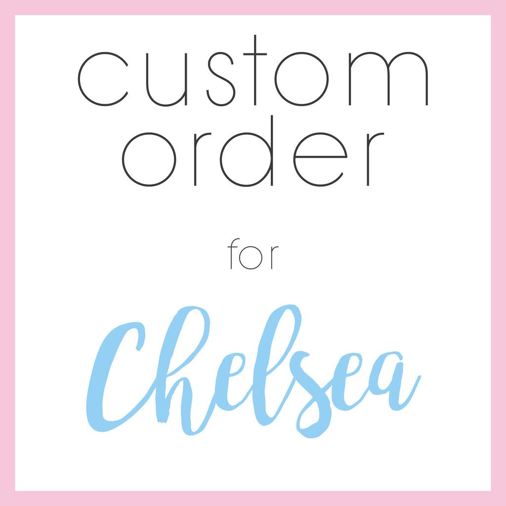 Custom Order For Chelsea - Heart And Hand