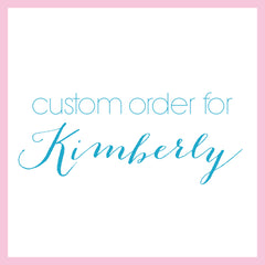 Custom Order for Kimberly - Heart And Hand
