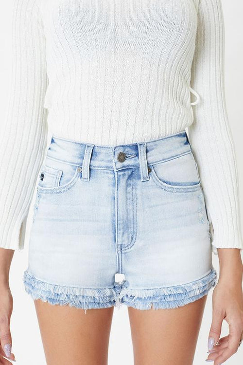 KanCan Frilly Cute Denim Shorts