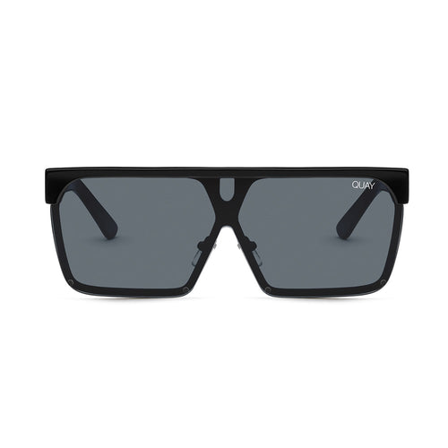 Quay Sunglasses - Shade Queen - BLK/SMK