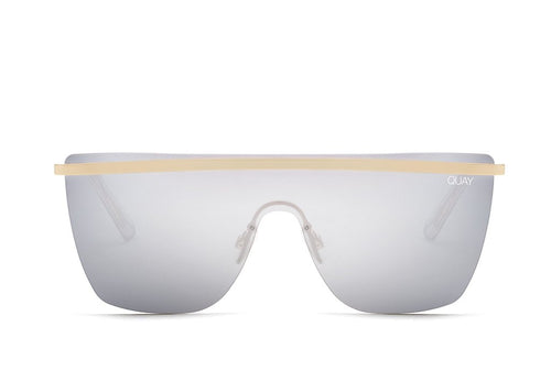Quay Sunglasses - Get Right - GLD/SLV
