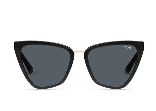 Quay Sunglasses - Reina - Black