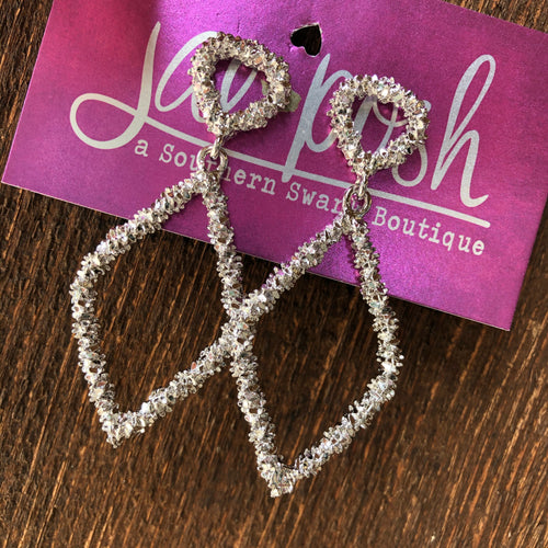 Vacay BayBay Earrings - Silver
