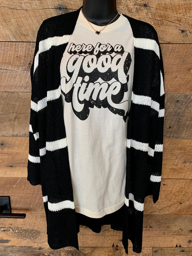 Here For A Good Time Tee