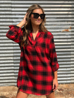 Fireside Tunic Dress